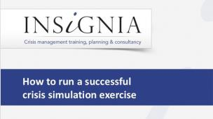 WEBINAR - How to run Effective Crisis Simulations for Reputational Resilience