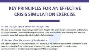 How to Run Effective Crisis Simulations for Reputational Resilience