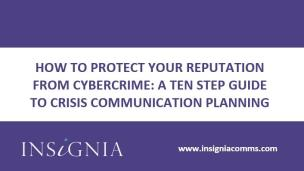 Cyber crime communication: planning a successful response
